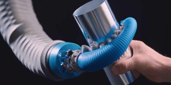 OctopusGripper – захват для роботів, скопійований з щупальця восьминога